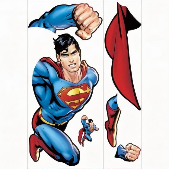 roommates muurstickers superman day of doom vinyl 2 369042 1583843807