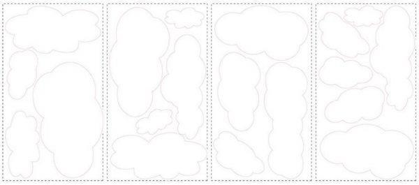 roommates muurstickers wolken vinyl 19 stuks wit 337415 1574350736