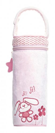 saro fleswarmhouder 24cm roze konijntje 350328 1578495178