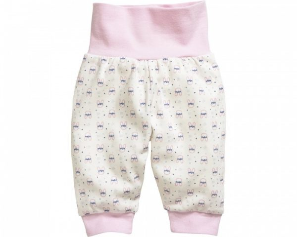 schnizler babybroek interlock roze konijn 2 355159 1579677645