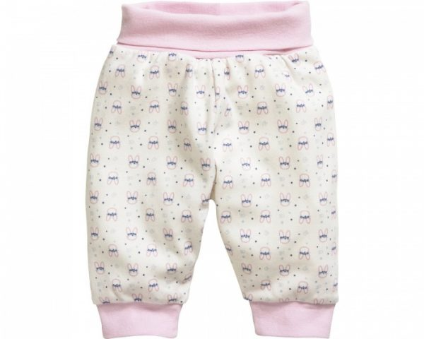 schnizler babybroek interlock roze konijn 355159 1579677644 1
