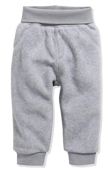 schnizler broek fleece junior polyester grijs 355483 1579700303
