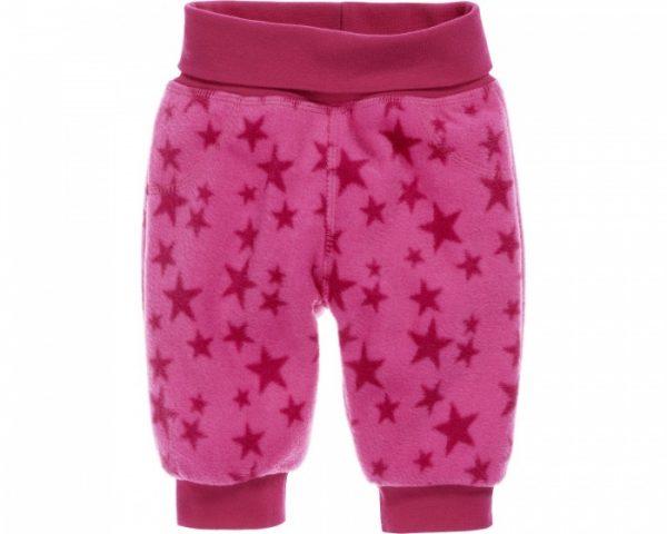 schnizler fleecebroek sterren junior roze 354965 1579611810
