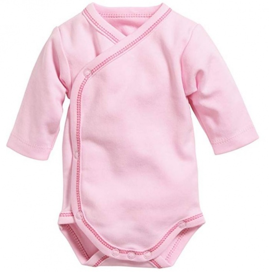 schnizler romper wrap body basic junior roze 354485 1579532103