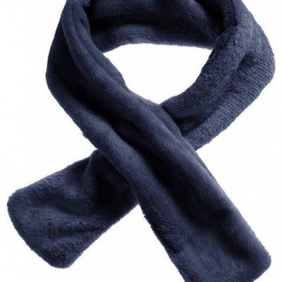 schnizler sjaal all season met lus fleece navy junior one size 365520 1582796948