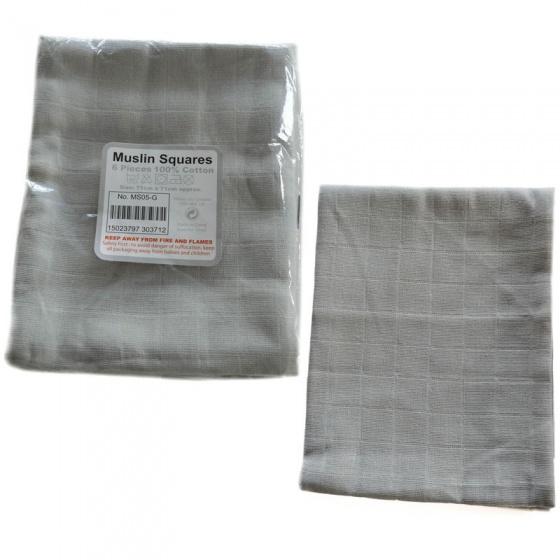 soft touch hydrofiele doeken 6 stuks grijs 334452 1573654148
