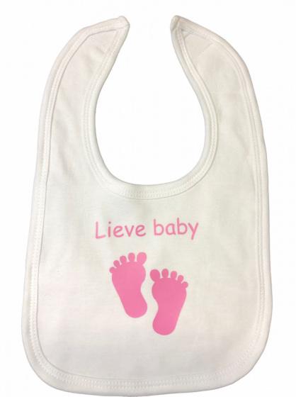 soft touch slabber lieve baby meisjes 33 cm katoen wit roze 472591 1602069756