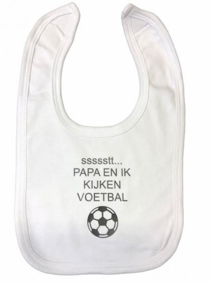 soft touch slabber voetbal jongens 33 cm katoen wit grijs 472621 1602071171
