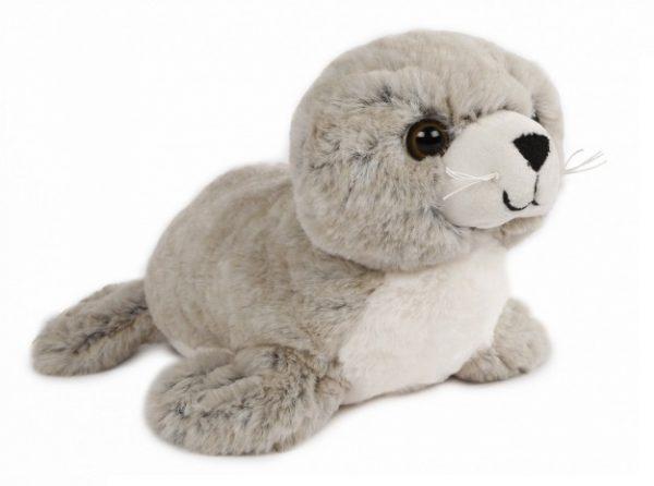 take me home knuffel zeehond junior 26 cm pluche lichtbruin 394855 20200514082814