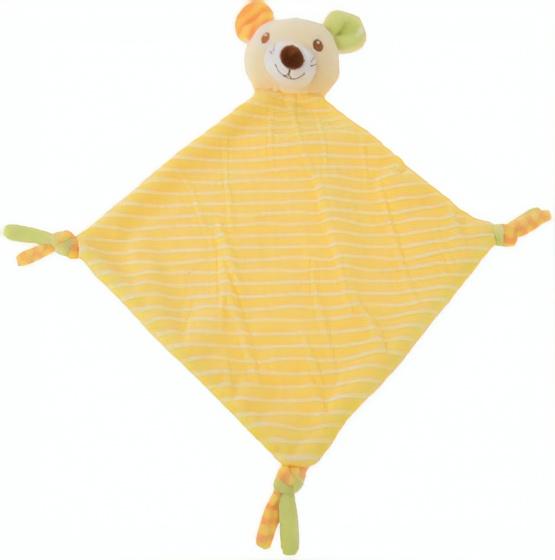 tender toys knuffeldoekje gele beer 37 cm 323979 1571218195